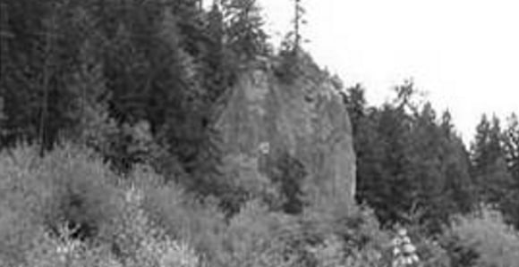 Jamestown Tribe's Tamanowas Rock